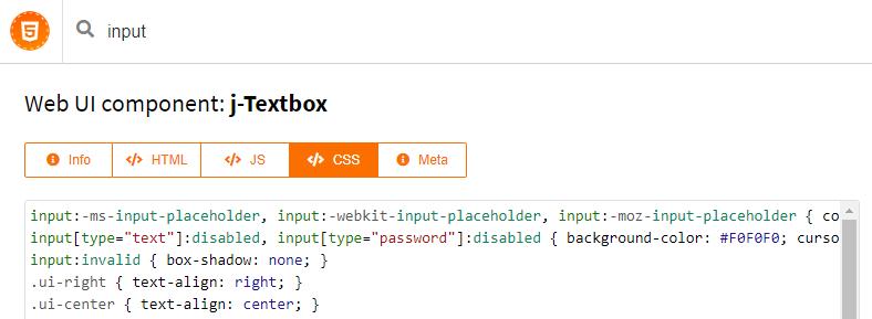 сайт componentator, поиск компонентов